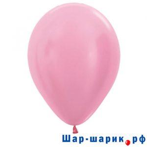 Шар розовый перламутр (409)