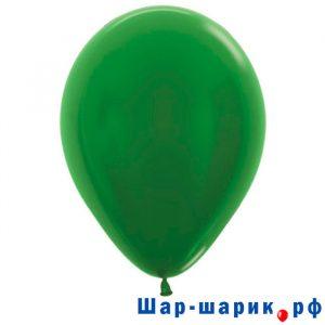 Шар зеленый металлик (530)