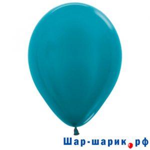Шар голубой металлик (538)