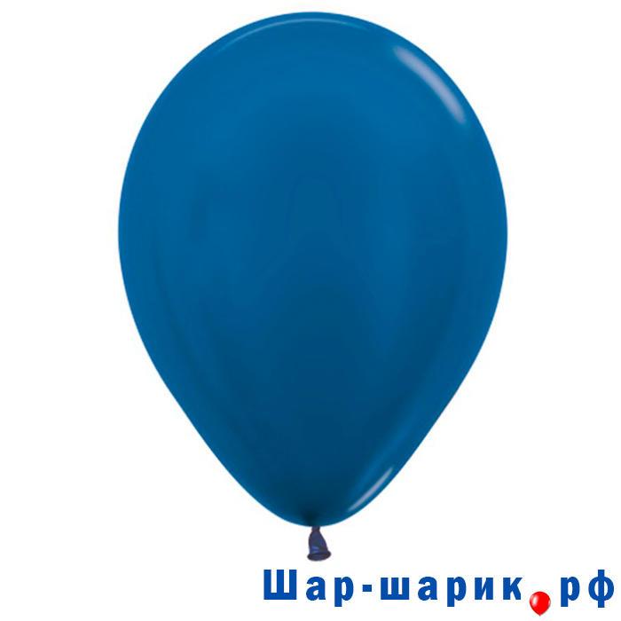 Шар синий металлик (540)