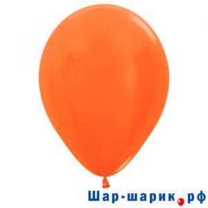 Шар оранжевый металлик (561)