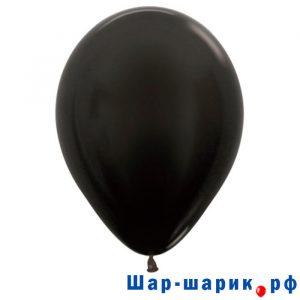 Шар черный металлик (580)