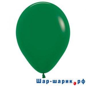 Шар темно-зеленый пастель (матовый 032)