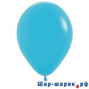 Шар синяя бирюза пастель (матовый 038)