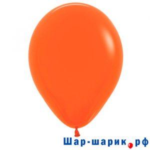 Шар оранжевый пастель (матовый 061)