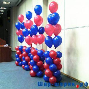 Фонтан из 7 шаров на стойке (FN-29)