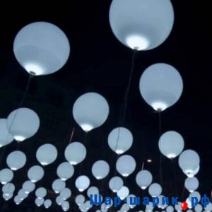 Светящиеся шары белые (SVS-4)
