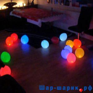 Светящиеся шары с воздухом ассорти (SVS-7)